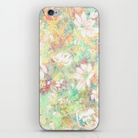 Vintage Flowers XXXIX - for iphone iPhone & iPod Skin