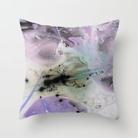 Lilypad 3 Throw Pillow