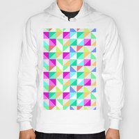 Hoody featuring TRIANGLES by Louisa Hereford