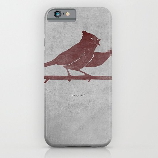 the bird is the f-word iPhone & iPod Case