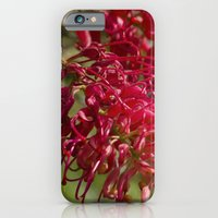 iPhone & iPod Case featuring Flor roja by Leonor Saavedra