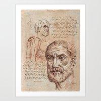 Aristotle Art Print
