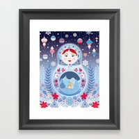 Our Lady Of Winter Framed Art Print