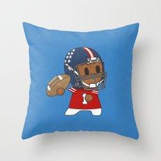 American Football II Throw Pillow