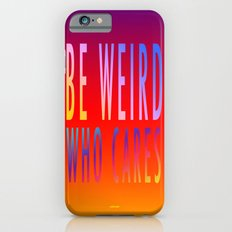 WHO CARES Slim Case iPhone 6s