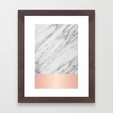 Real Italian Marble And … Framed Art Print