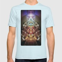 Powerslave 2020 Mens Fitted Tee Light Blue SMALL