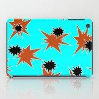 Stars (Orange & Black On… iPad Case