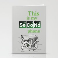 Second Phone Stationery Cards
