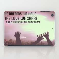Pretty Lights Inspiration iPad Case