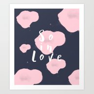 So In Love Art Print