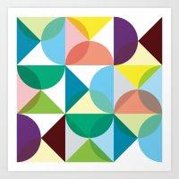 Geometry for Modern Houses (2010) Art Print
