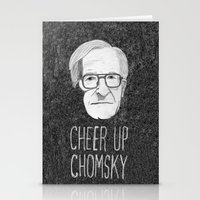 Cheer Up Chomsky Stationery Cards