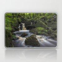 River At Padley Gorge Laptop & iPad Skin