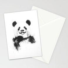 Funny panda Stationery Cards