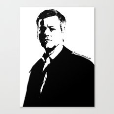 DI Greg Lestrade Canvas Print