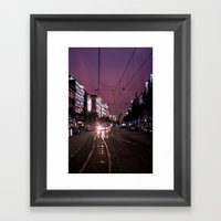 Mannheim City Framed Art Print