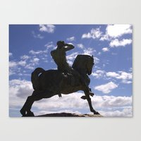Past History Canvas Print