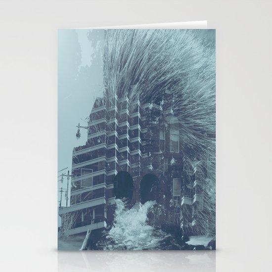 evacuate Stationery Card