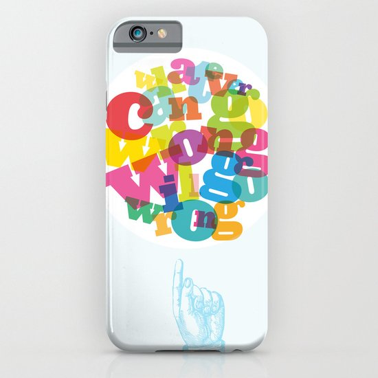 Whatever can go wrong will go wrong iPhone & iPod Case