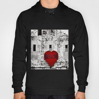 Buffalo Love Black White… Hoody