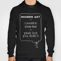 But you didn't Hoody