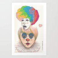 circus love Art Print