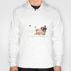 The Furminator pug watercolor like art Hoody