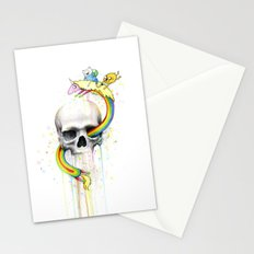 Adventure through Time and Face Stationery Cards