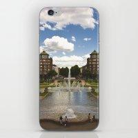 Mannheim Augustaanlage iPhone & iPod Skin
