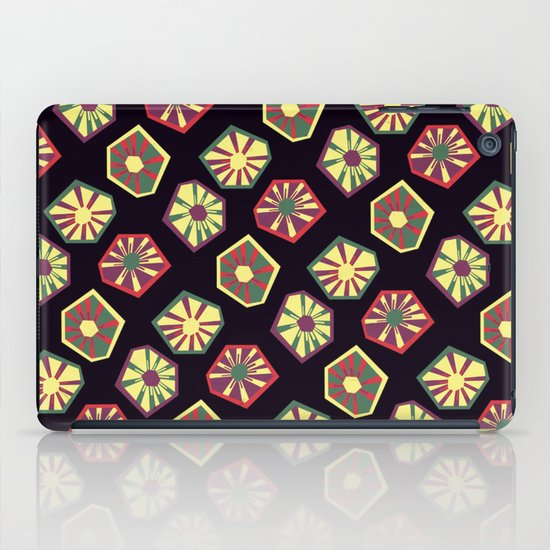 Bursting and Blooming iPad Case