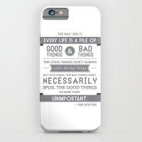 Good Things & Bad Things (gray) iPhone 6 Slim Case