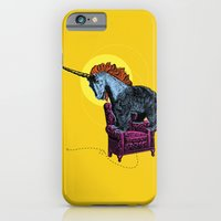 iPhone & iPod Case featuring Get off the furniture, Unibear by Smiley and the Pony