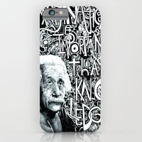 Einstein.  iPhone 6 Slim Case