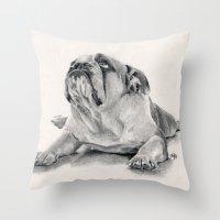 IPug Throw Pillow