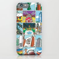 iPhone & iPod Case featuring Barcelona anno 1 by Miguel Herranz