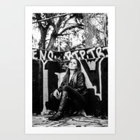 Smoker And The Thief  Art Print