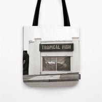 Corner Fish Shop Tote Bag
