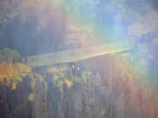 Bridge Over the Rainbow Art Print