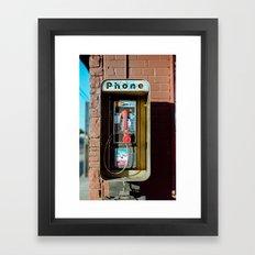 Street Relic Framed Art Print