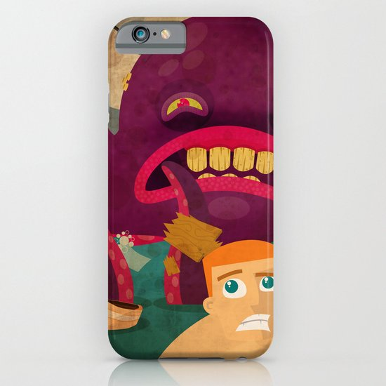 giant octopus iPhone & iPod Case