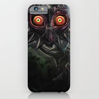 iPhone & iPod Case featuring Legend of Zelda Majora's Mask Link by Barrett Biggers