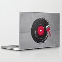 music Laptop & iPad Skins featuring Art of Music by dan elijah g. fajardo