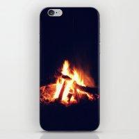 Streams Of Fire iPhone & iPod Skin