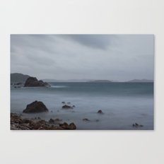 John's Folly on a Foggy Morning Canvas Print