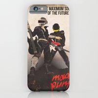 iPhone & iPod Case featuring Mad Punk / A tribute to Daft Punk by BarbarianFactory