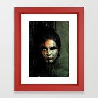 The Widow Returns Framed Art Print