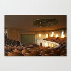 a theater's narrative Canvas Print
