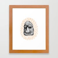 Figurehead Framed Art Print
