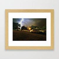 Benzo Framed Art Print